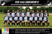 Wir sind Sponsor beim FSV 1946 Saulheim II
